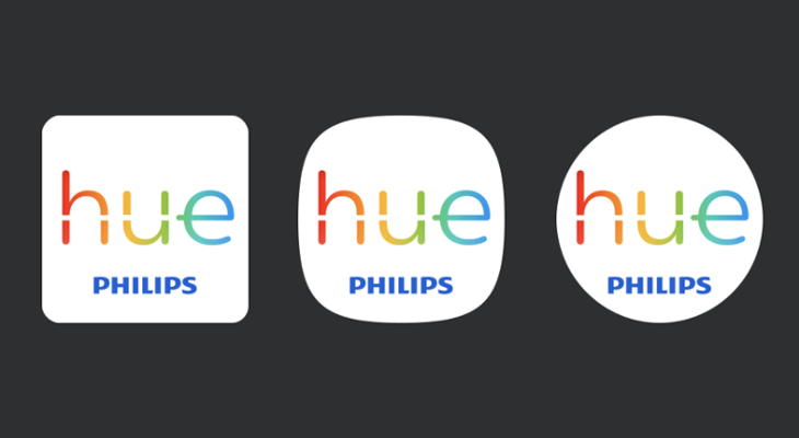 Philips Hue adaptive icon