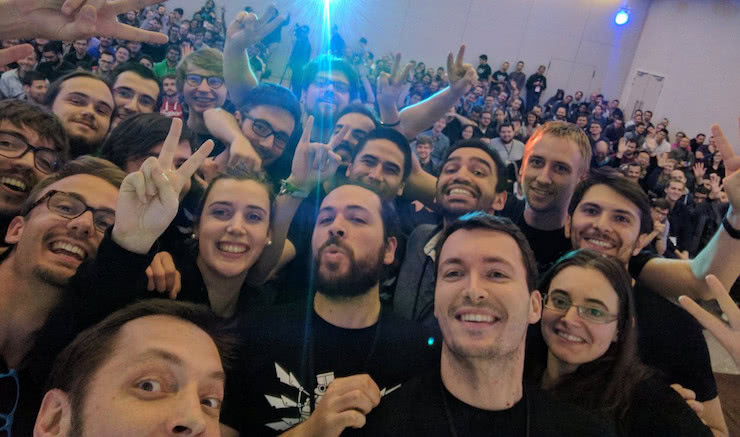 The awesome Android makers organizing team