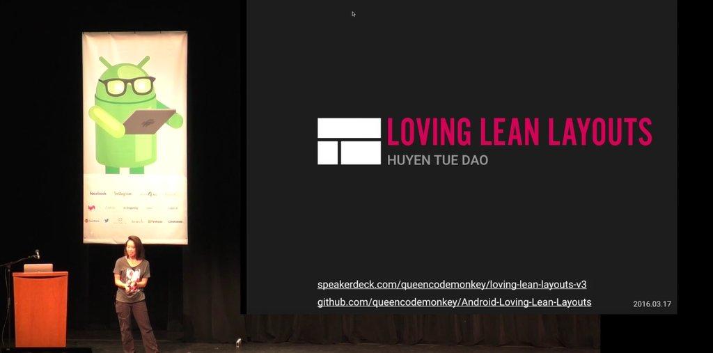 Loving lean layouts