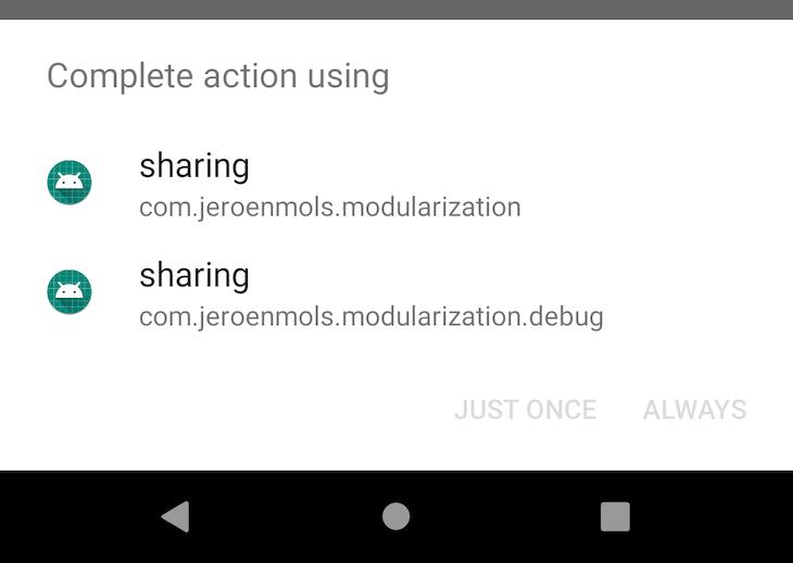 Modularization - Real-life example - Jeroen Mols